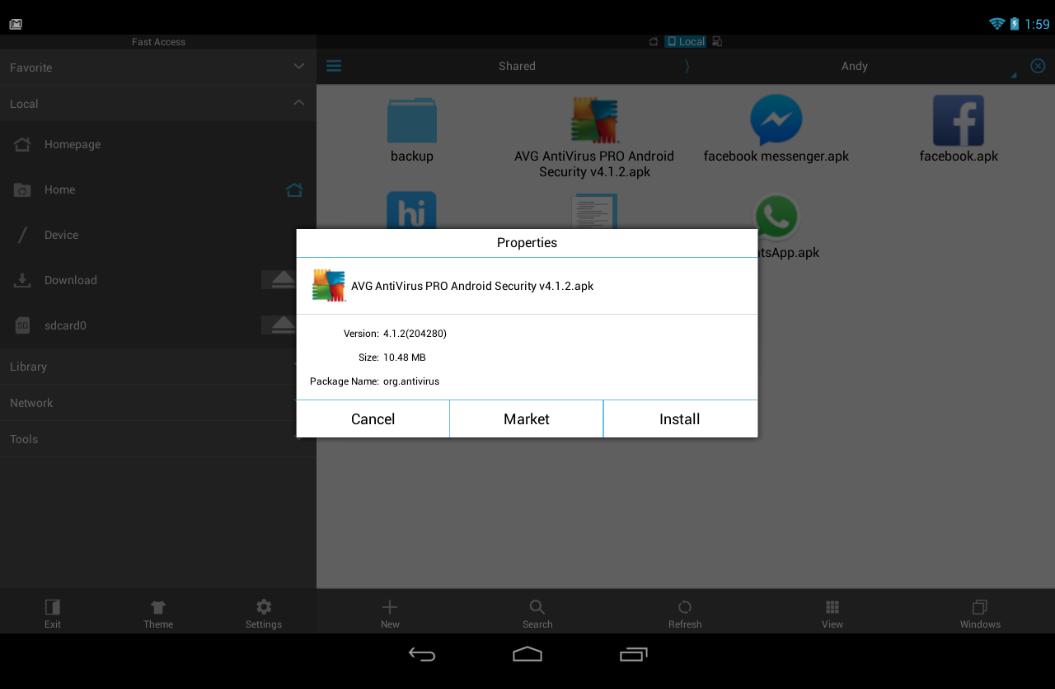 andy the android emulator v41 offline installer